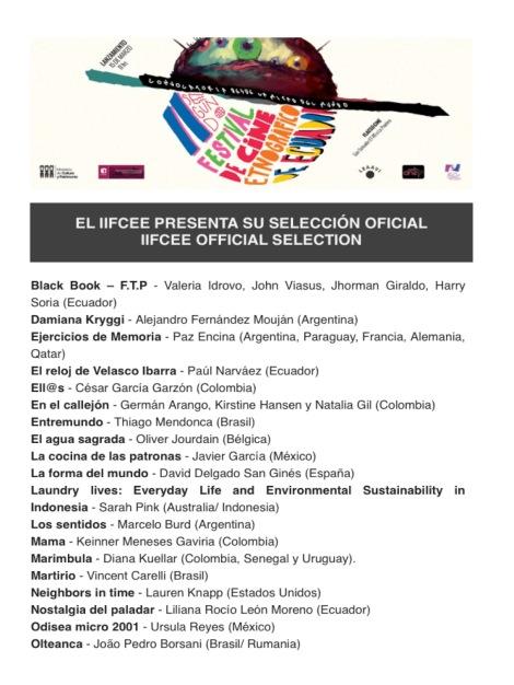 Selección Oficial IIFCEE1
